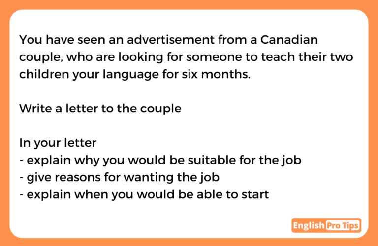 General Task 1 Language teacher